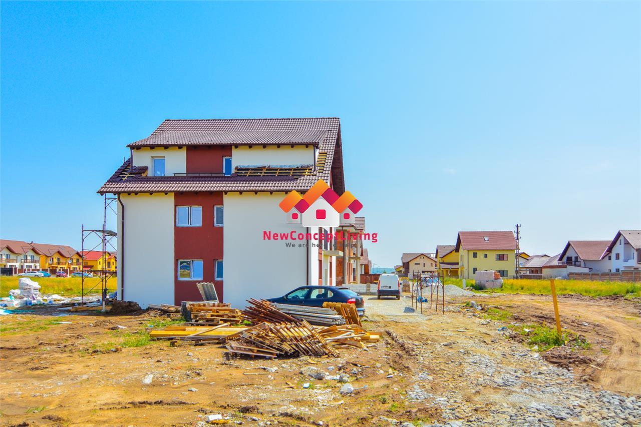 Apartament 3 camere in Sibiu - la Vila - Decomandat + 2 balcoane