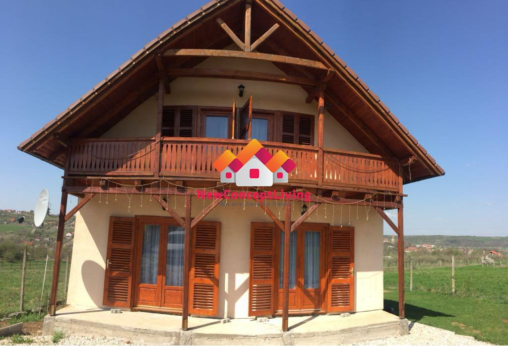 Casa de vacanta de vanzare in Sibiu -DJ106 -  Daia Noua