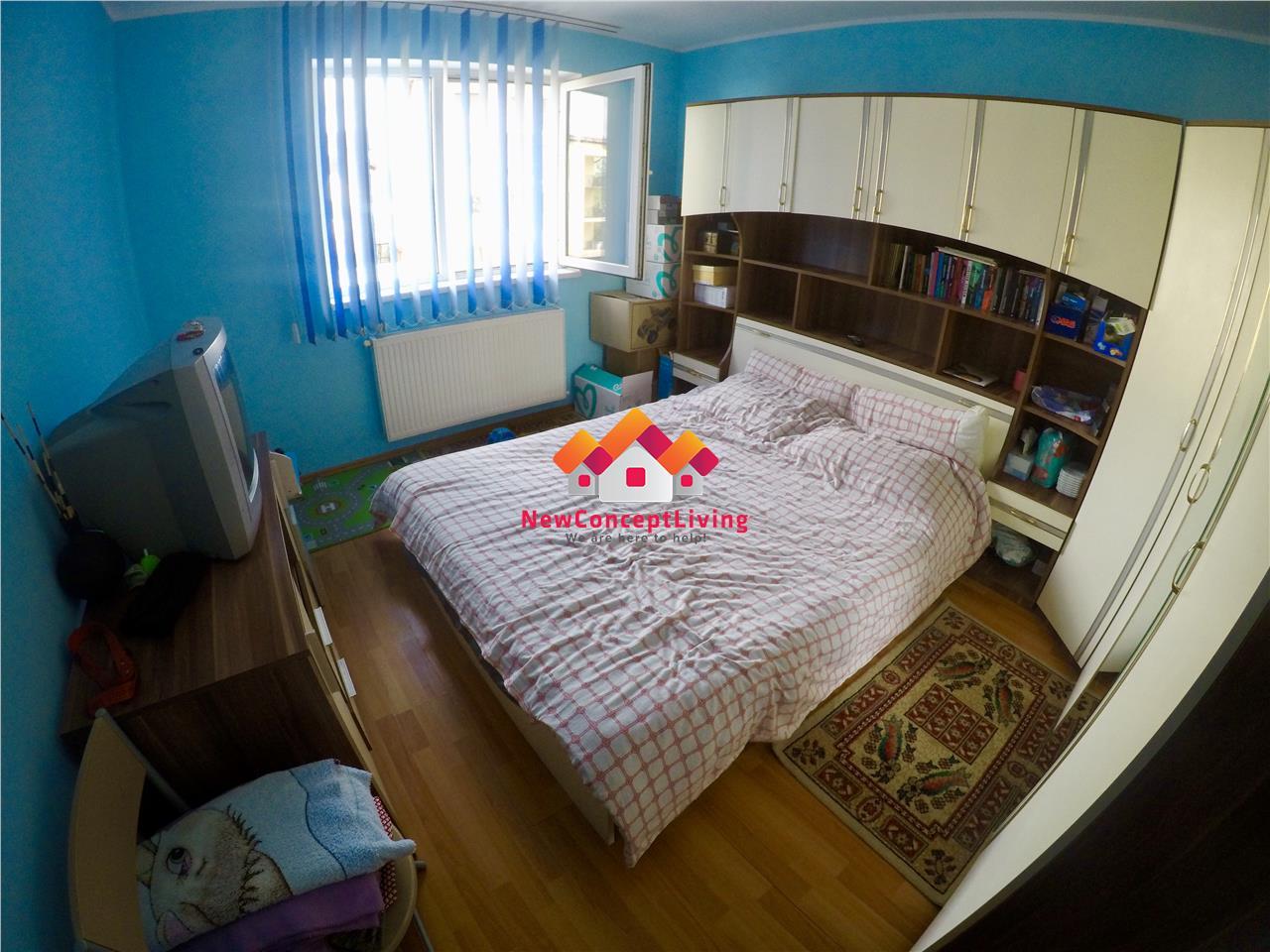 Apartament 2 camere de vanzare in Sibiu - etaj 1 - zona Selimbar