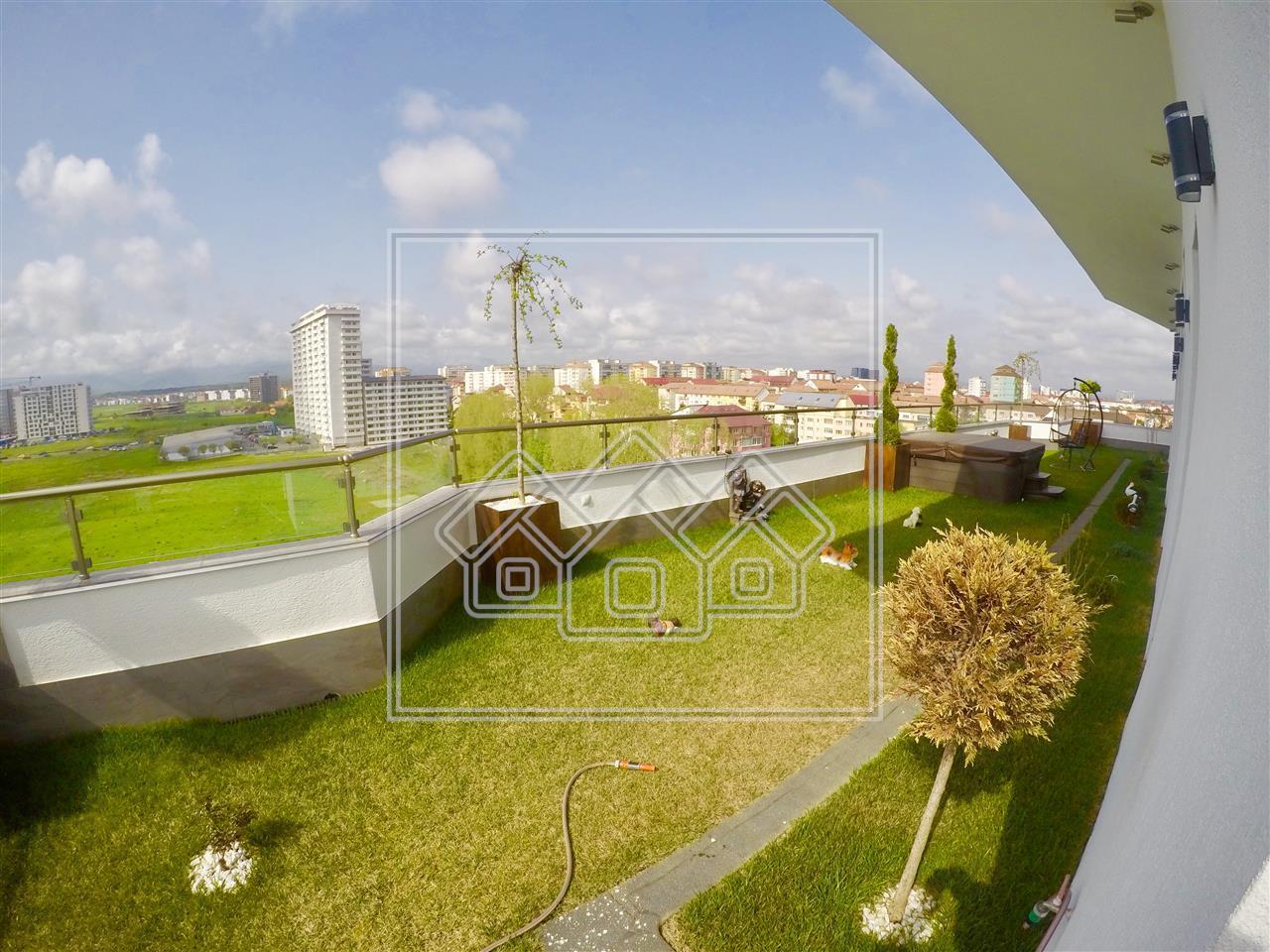 Penthouse de vanzare in Sibiu -mobilat si utilat -LUX- Promenada Mall