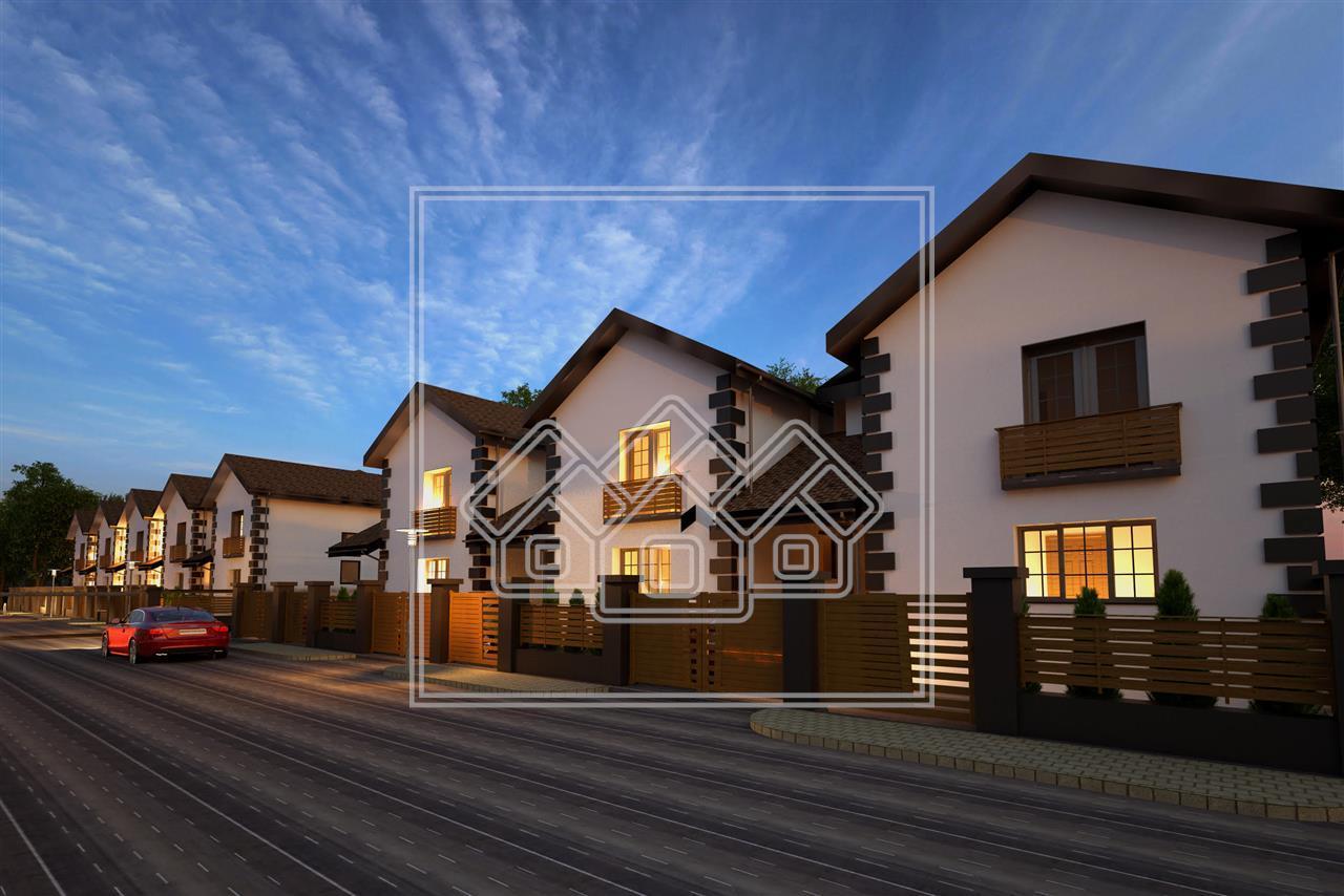 Casa de vanzare in Sibiu - individuala - predare LA ALB