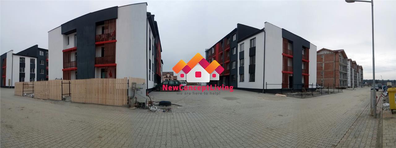 Apartament 3 camere de vanzare in Sibiu - La Cheie + Parcare