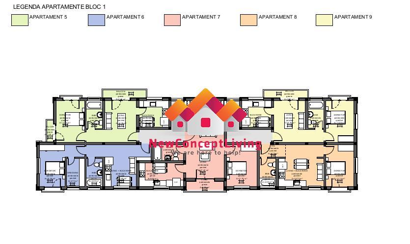 Apartament de vanzare in Sibiu - in imobil cu doar 2 etaje
