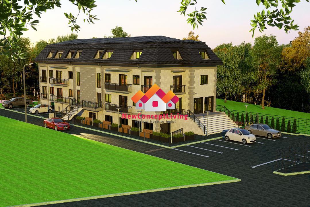 Apartament de vanzare in Sibiu - 2 camere si 2 balcoane