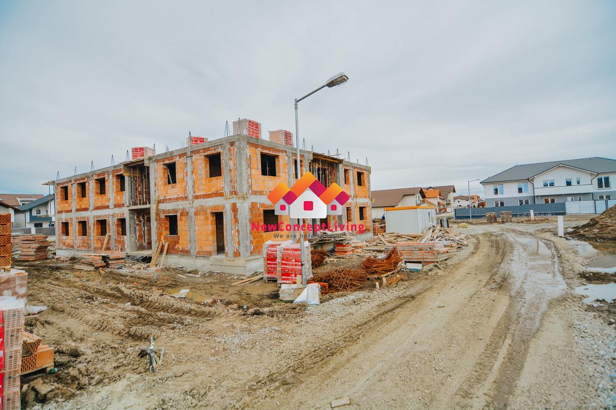 Apartament de vanzare in Sibiu - 2 camere si gradina proprie