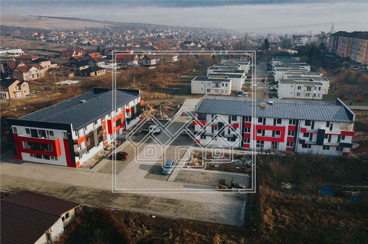 Apartment for sale in Sibiu - 3 rooms