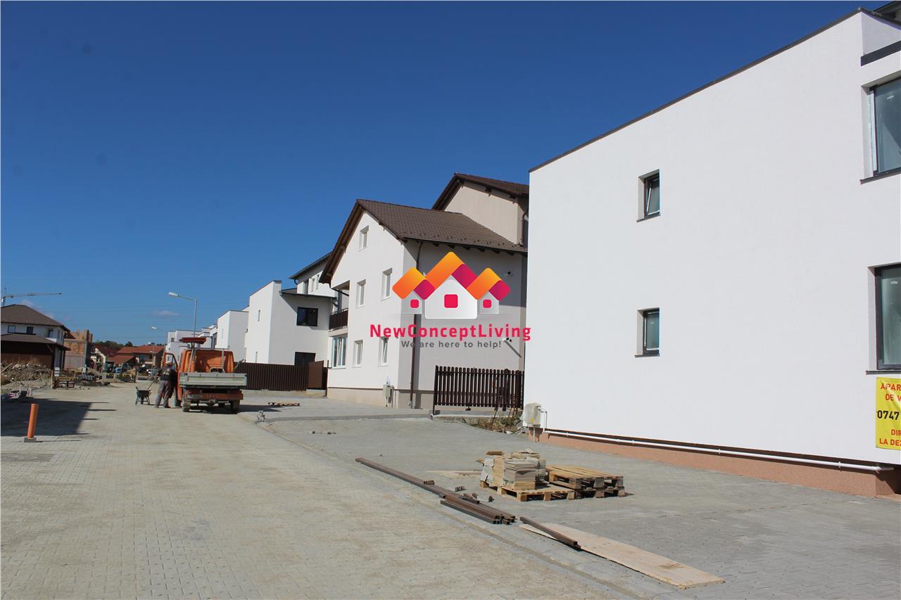Apartament de vanzare in Sibiu - 2 camere cu Gradina 120mp