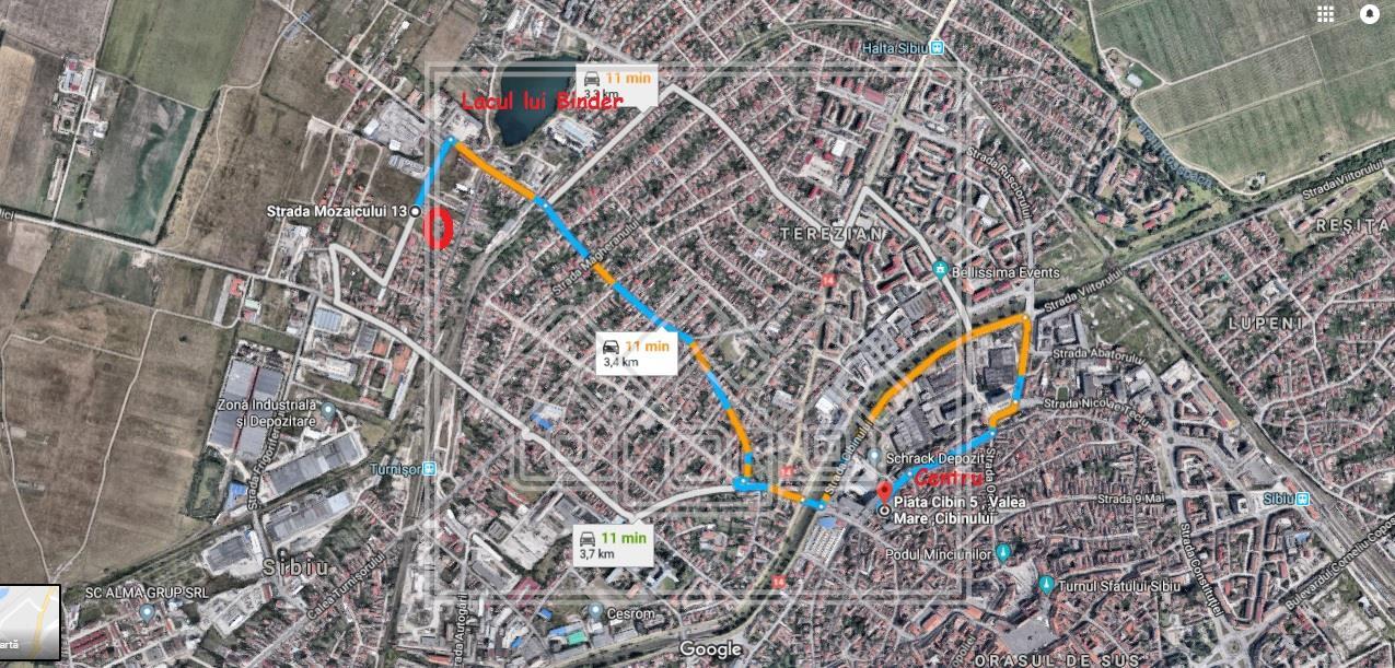 Teren de vanzare in Sibiu - 426mp -
