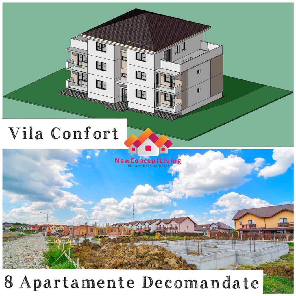 Apartament de vanzare in Sibiu - 2 camere - Etaj 1