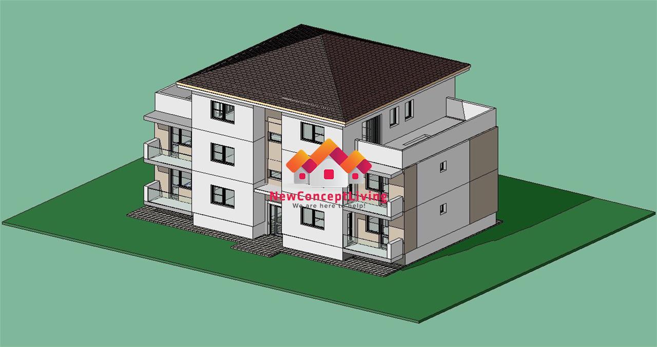 Apartament de vanzare in Sibiu - Terasa de 33 mp
