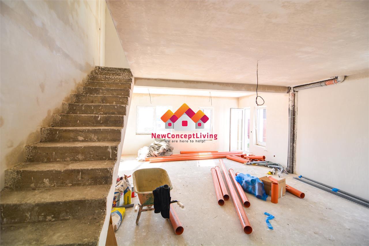 Casa de vanzare in Sibiu - gradina proprie - loc de parcare si pod