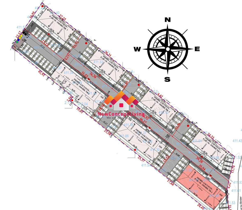 Apartament de vanzare in Sibiu - 2 camere - 44.7 mp utili