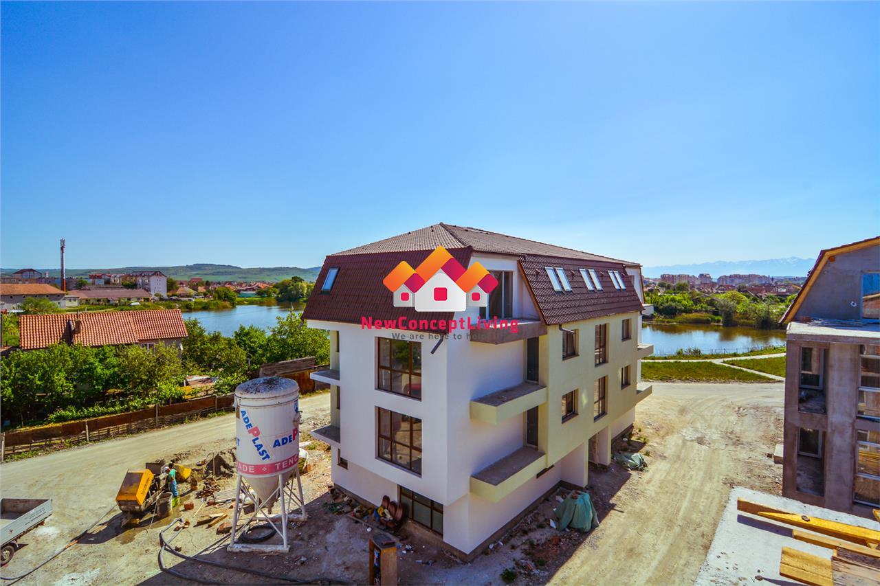 Apartament de vanzare in Sibiu - 65.7 mp utili+ terasa de 32 mp
