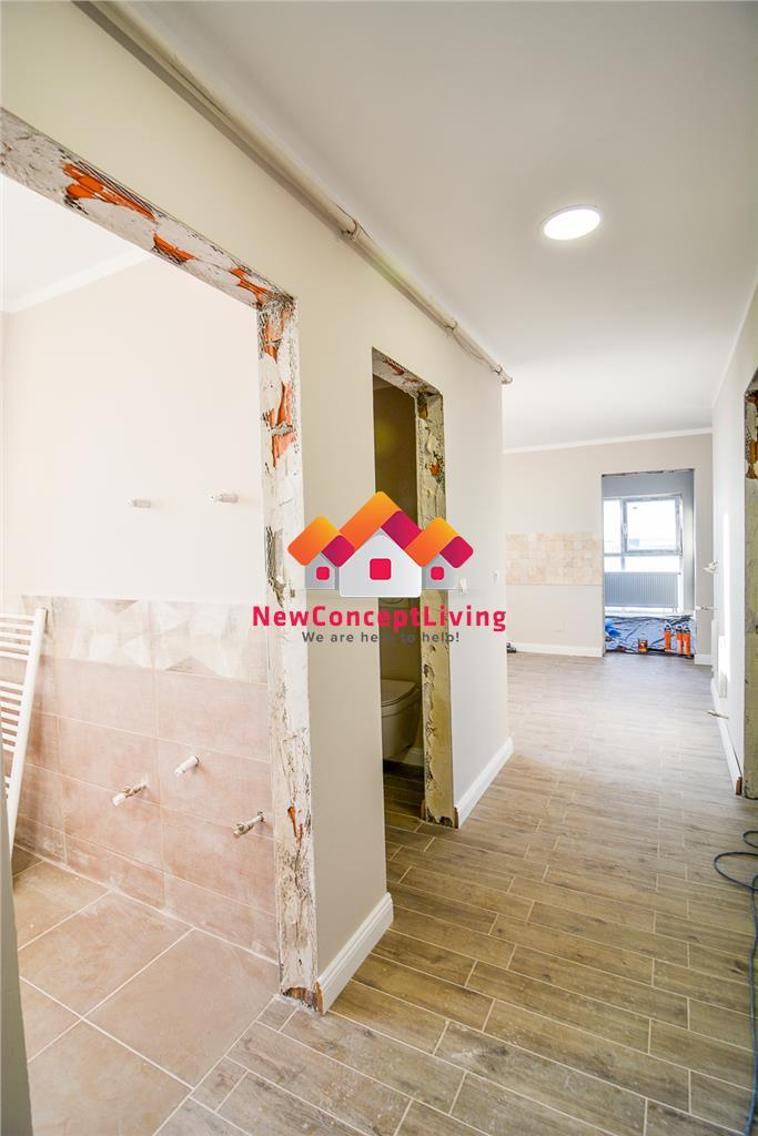Apartament de vanzare in Sibiu - LA CHEIE - 65.7mp+ terasa de 32 mp