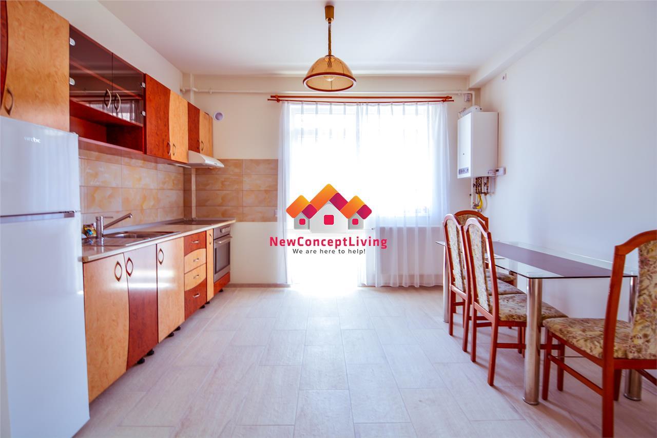 Apartament 2 camere de vanzare in Sibiu - Intabulat - Partial Mobilat