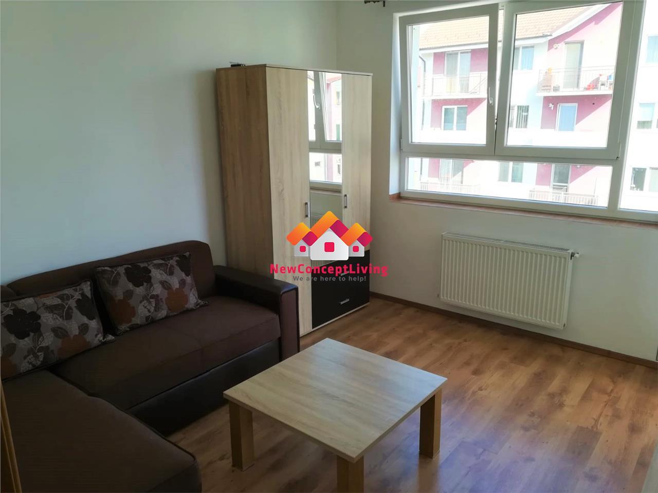 Apartament de inchiriat in Sibiu - complet mobilat - cartier Alma