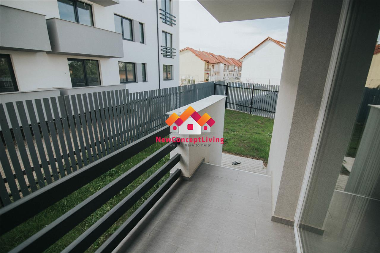 Apartament de vanzare in Sibiu - 3 camere, 77mp utili si gradina 70mp