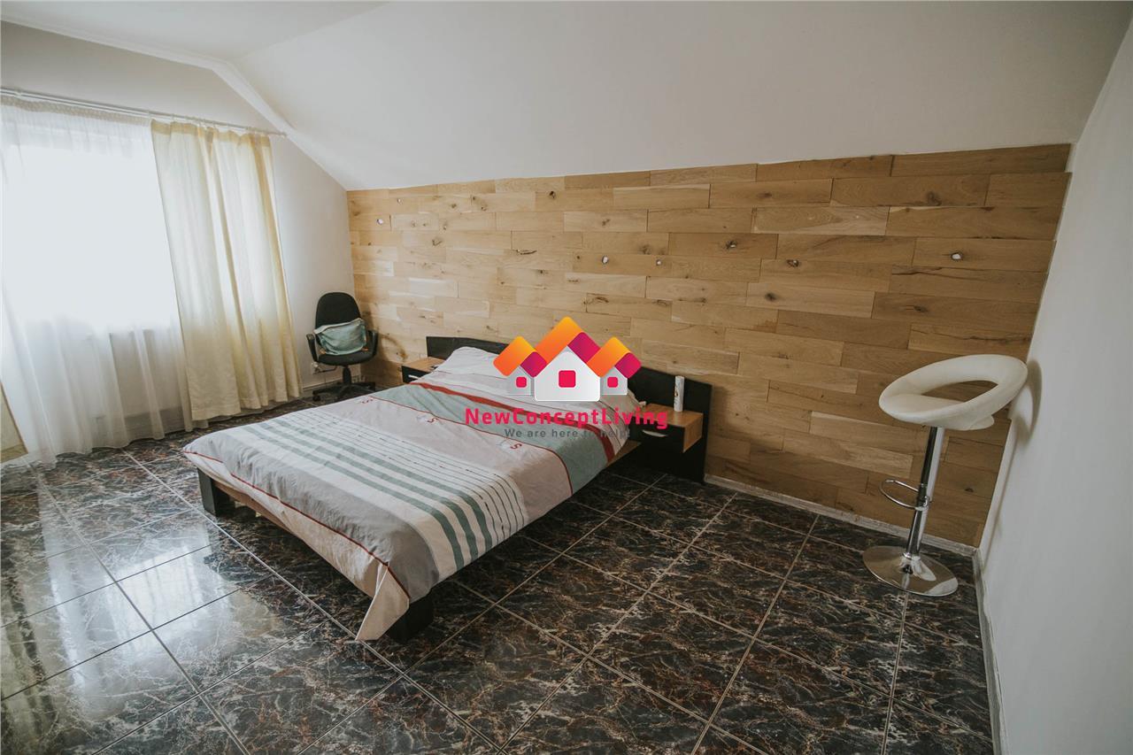 Apartament de vanzare in Sibiu - la casa cu curte si pivnita Selimbar