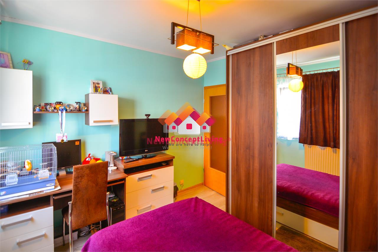 Apartament 2 camere in Sibiu decomandat - Etaj 2/4, balcon+ pivnita