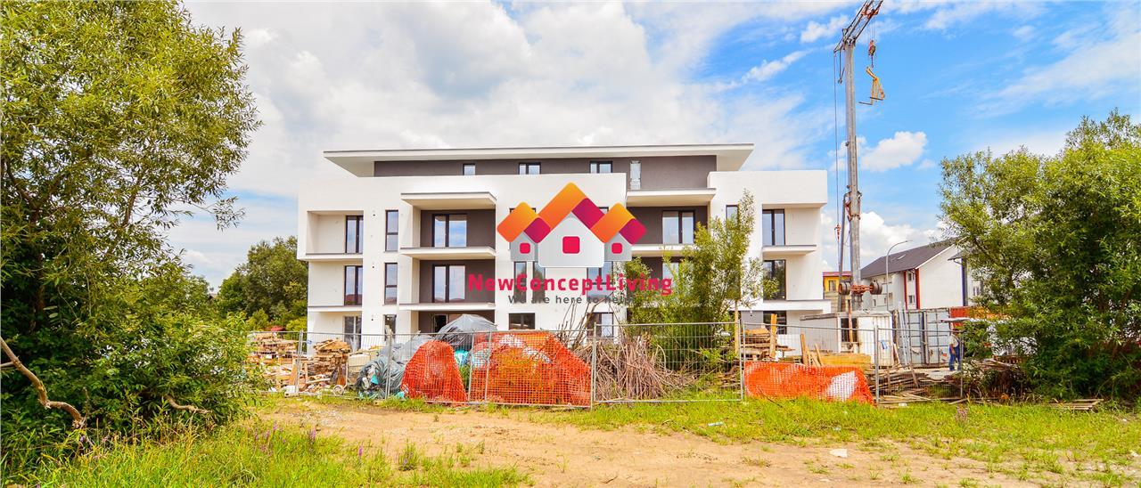 Apartament de vanzare in Sibiu - 3 camere si gradina proprie