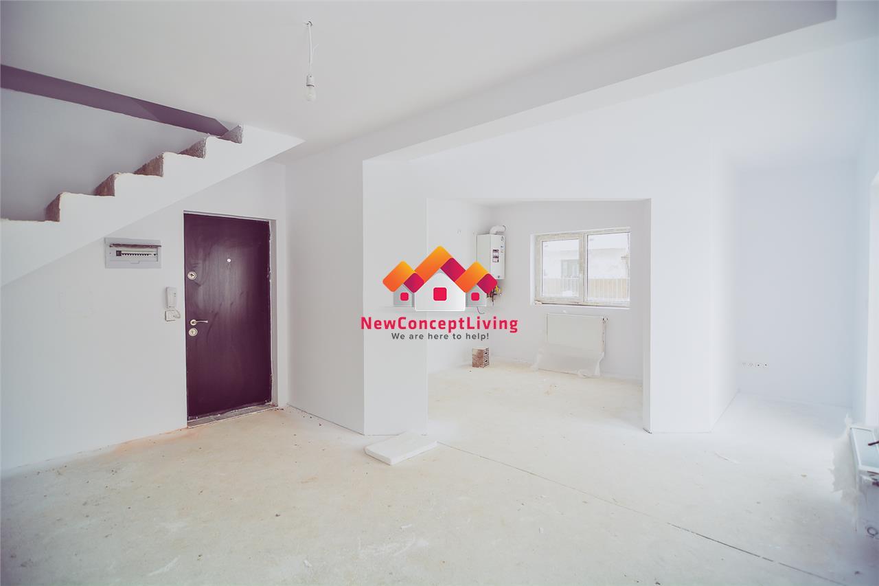 Apartament 4 camere de vanzare in Sibiu + decomandat + gradina si pod