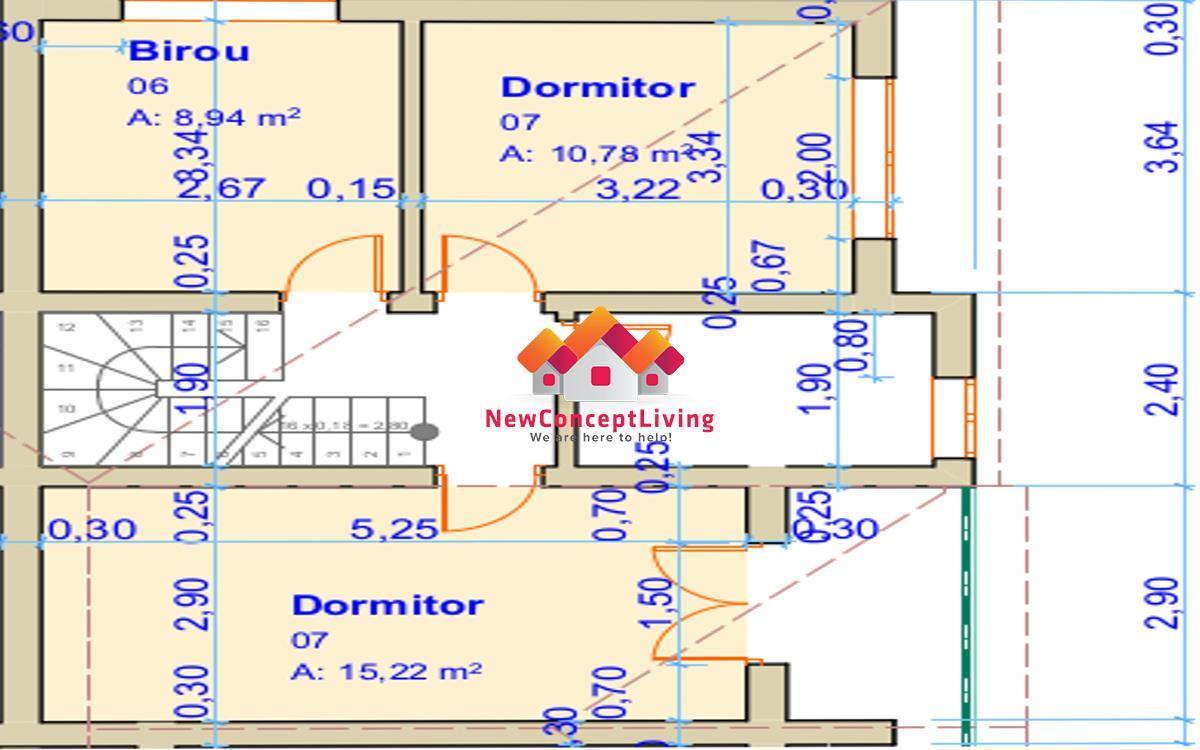Apartament 4 camere de vanzare in Sibiu + gradina 120 mp