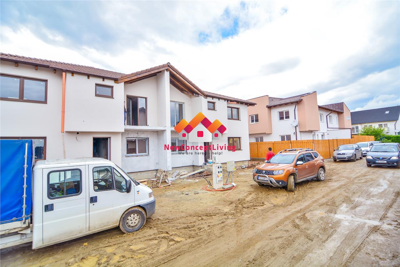 Apartament 4 camere de vanzare in Sibiu + gradina si parcare