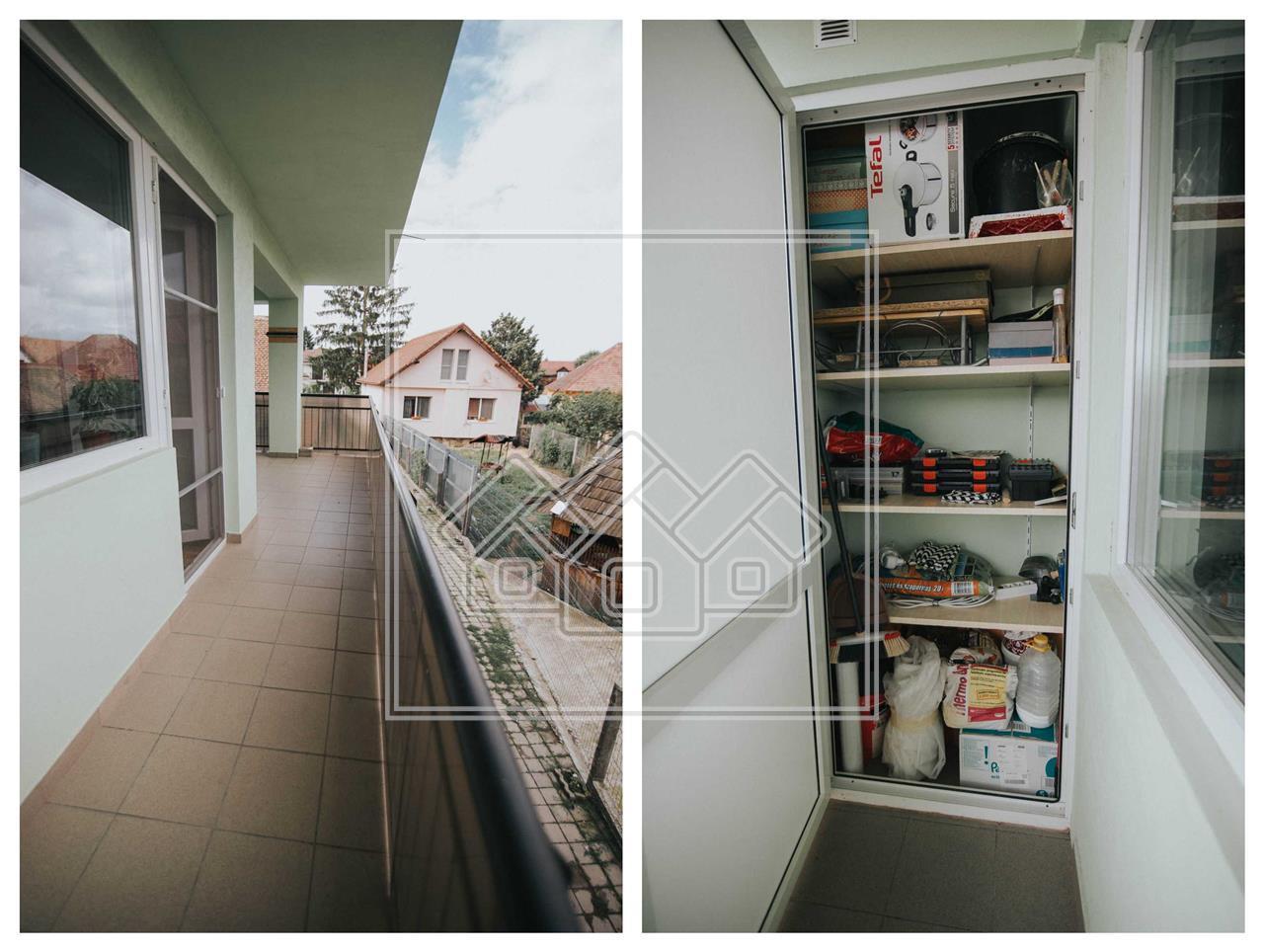 Apartament de vanzare in Sibiu - Turnisor - 3 camere - etaj 1