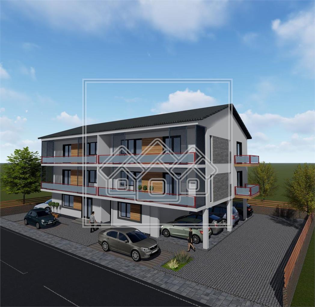 Apartament de vanzare in Sibiu cu 3 camere si Terase Spatioase