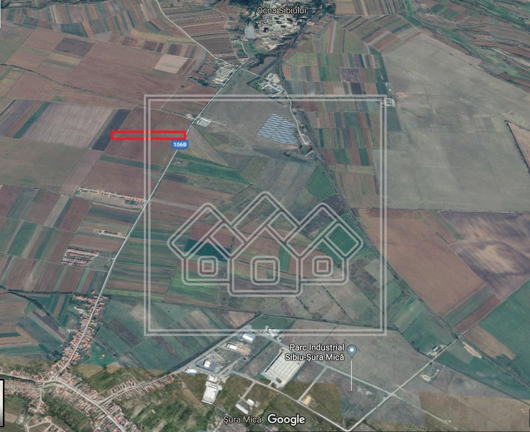Teren de vanzare in Sibiu, intravilan 25.900 mp - Sura Mica