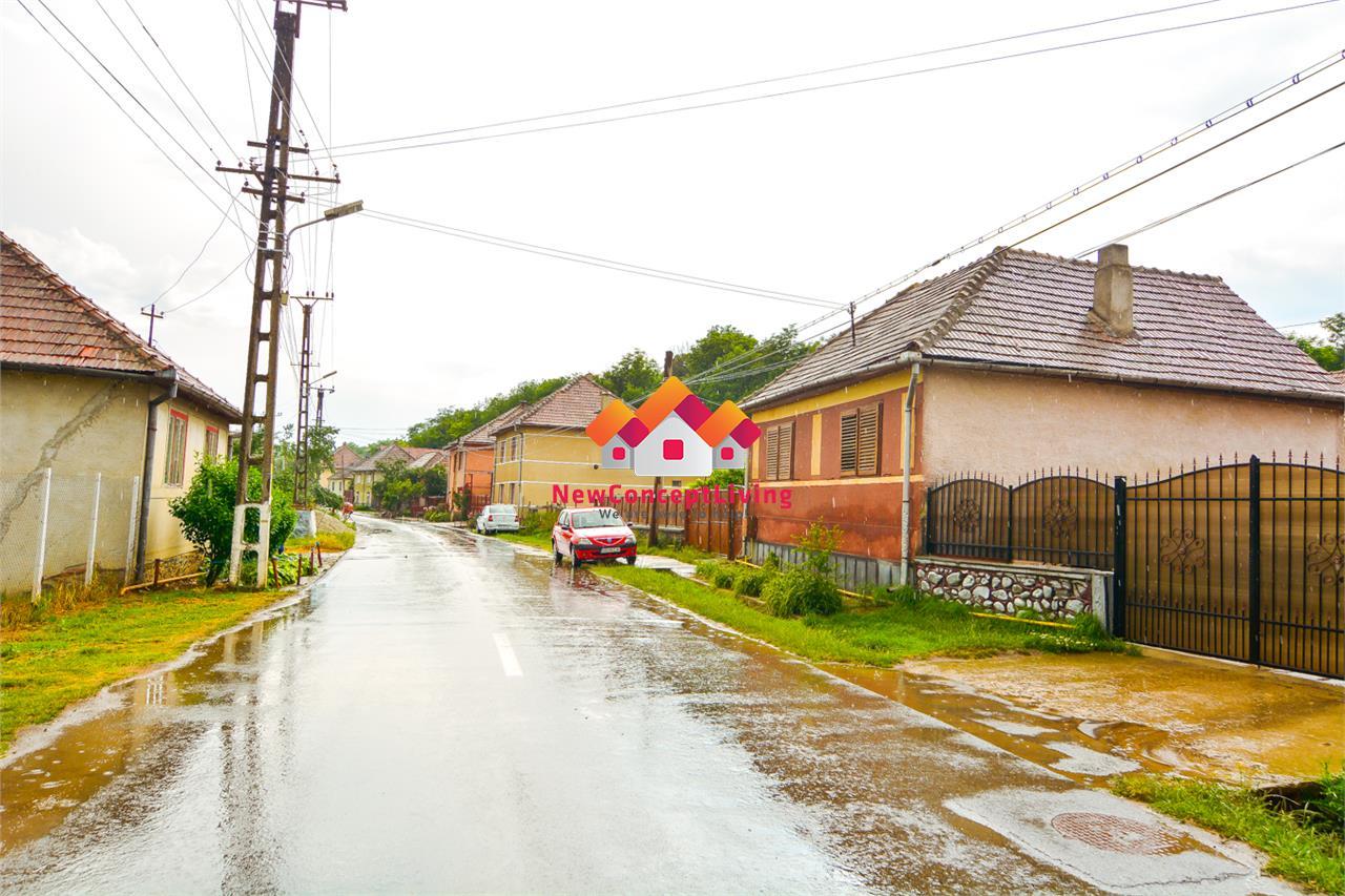 Casa de vanzare in Sibiu - comuna Loamnes - teren generos