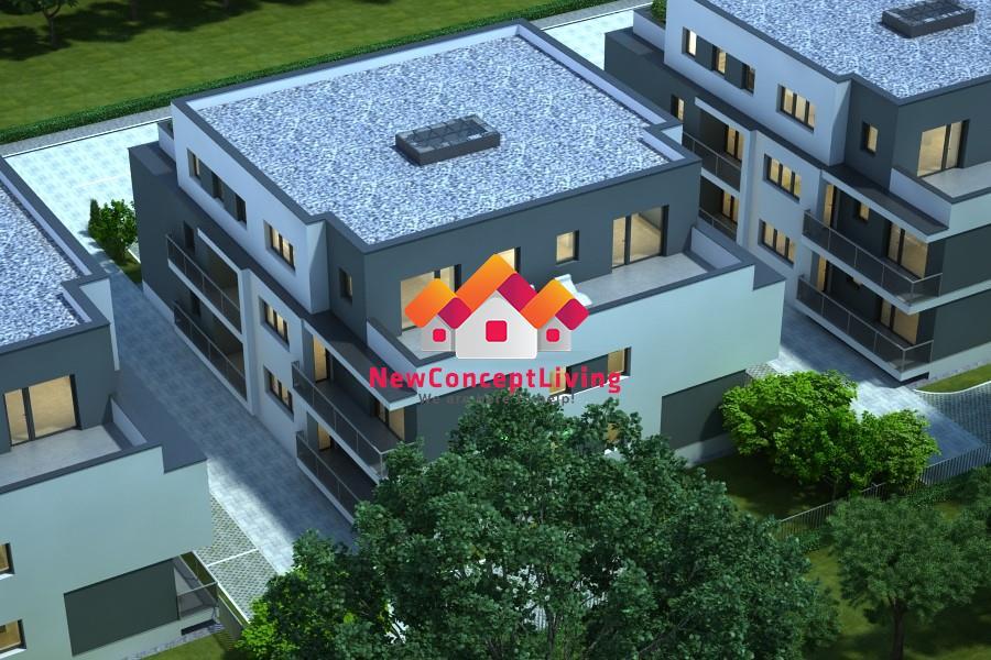 Apartament de vanzare in Sibiu - INTABULAT- balcon si gradina