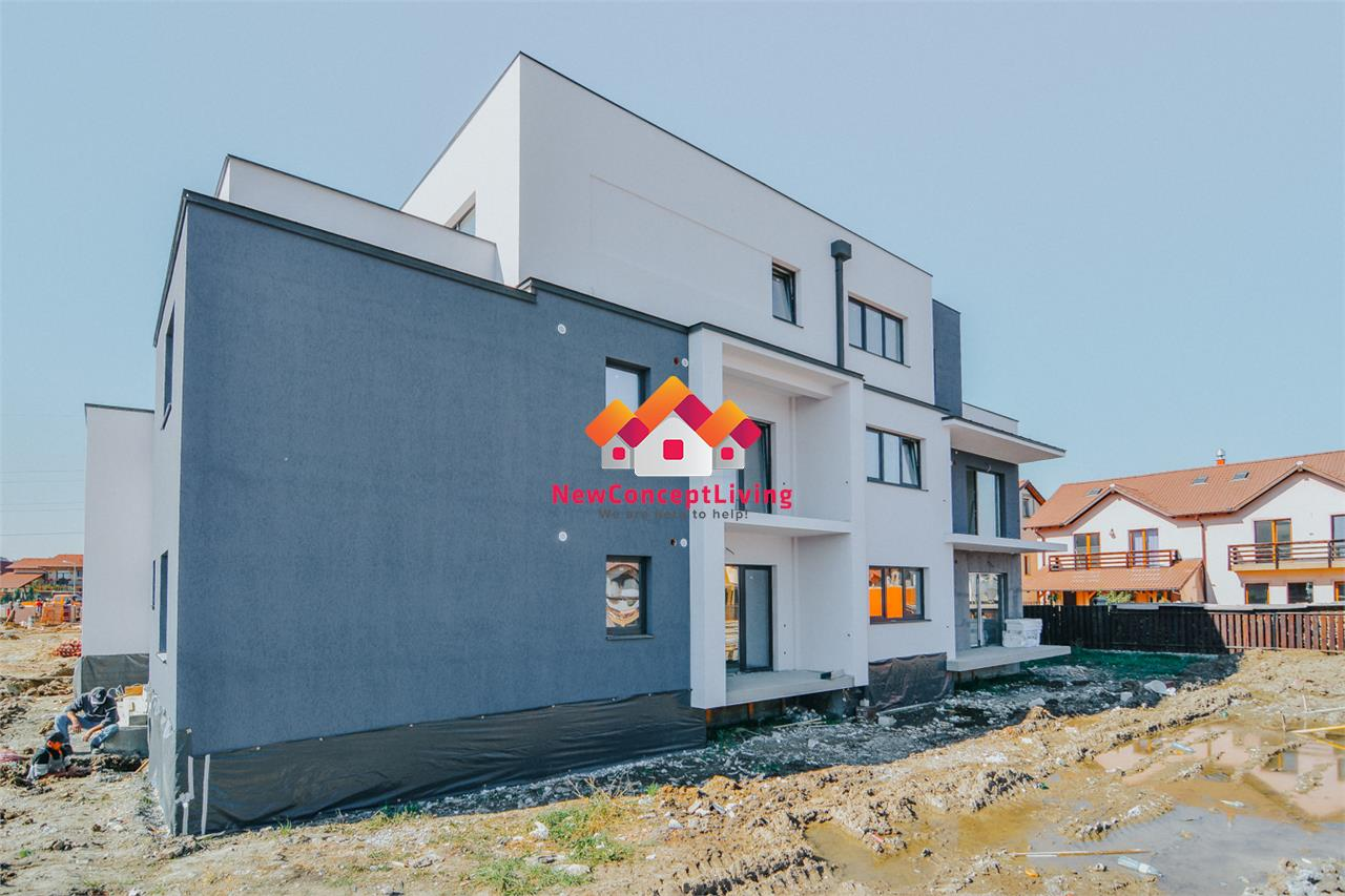 Apartament de vanzare in Sibiu - 2 camere - balcon generos