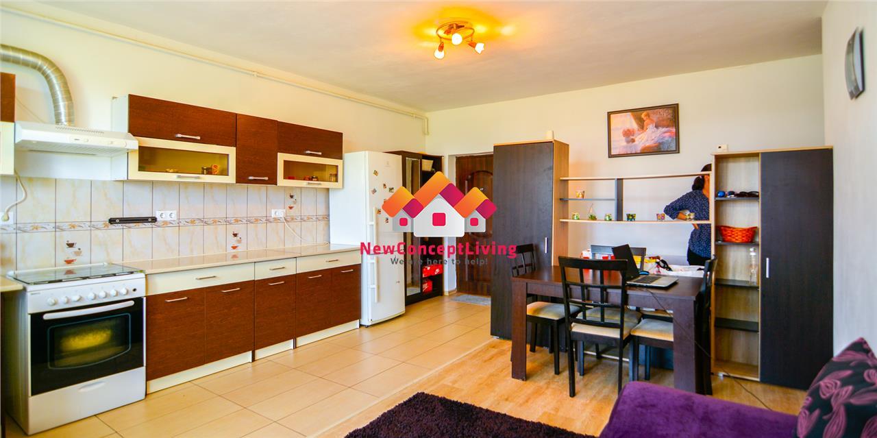 Apartament 2 camere de vanzare in Sibiu - Mobilat si Utilat - Gradina