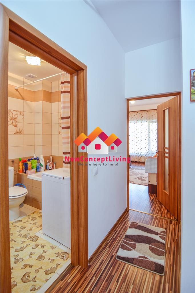 Apartament 2 camere de vanzare in Sibiu - Spatios Mobilat si Utilat