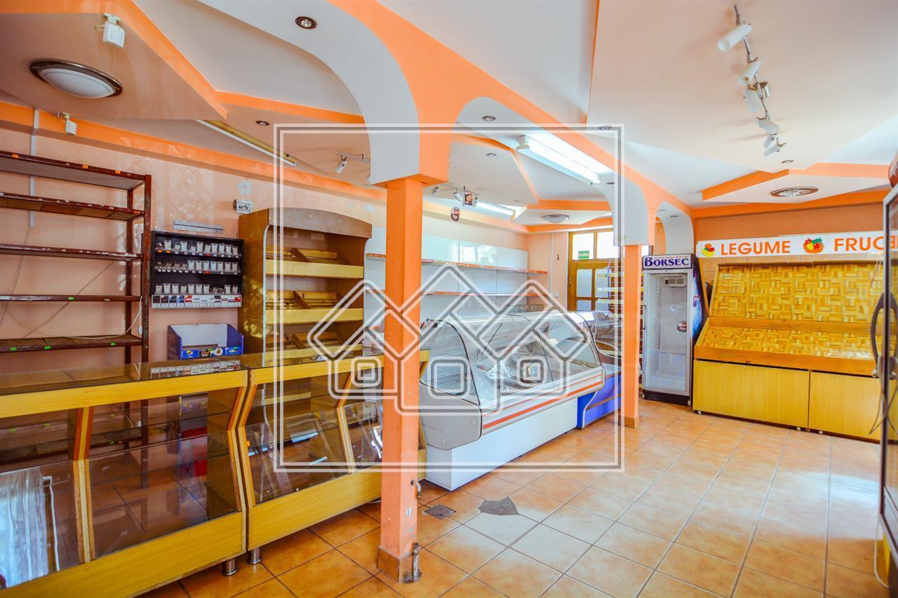 Spatiu comercial de vanzare in Sibiu, zona Compa