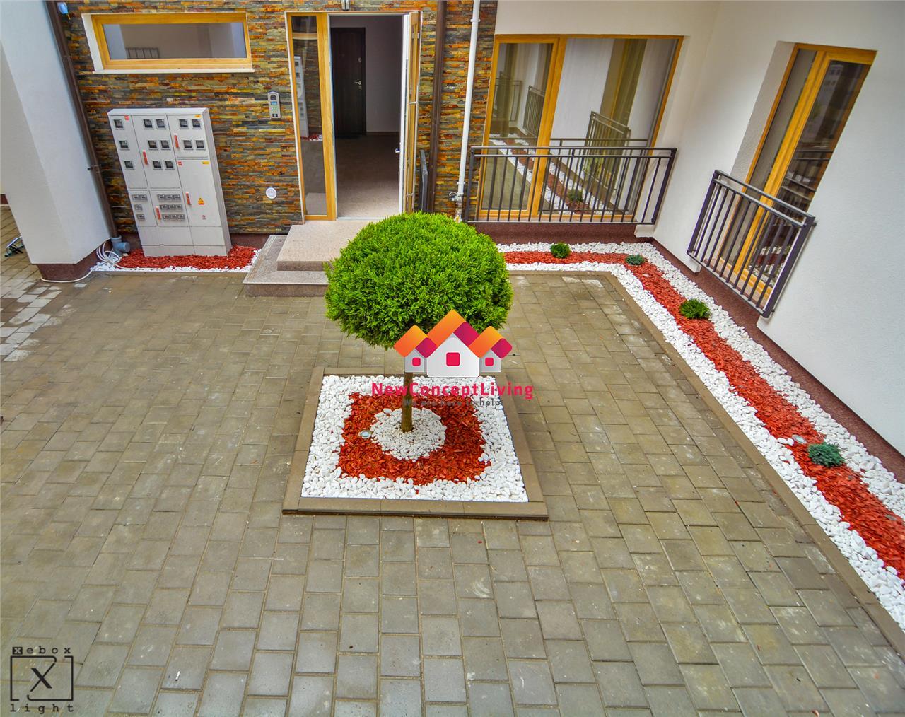 Apartament 2 camere de vanzare in Sibiu - La Cheie - Gradina 34 mp