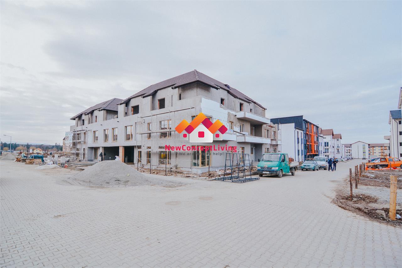Apartament de vanzare in Sibiu - La cheie - Etaj 1 - Balcon