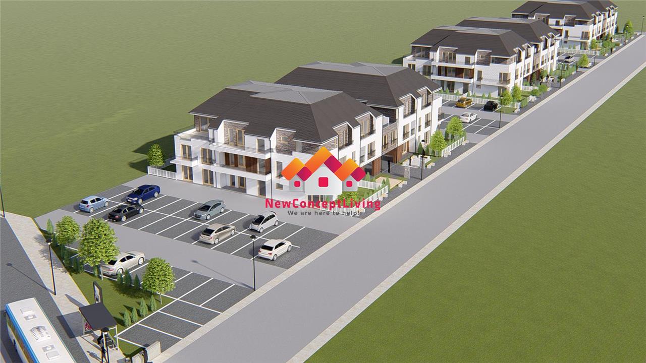 Apartament 3 camere de vanzare in Sibiu - La cheie - Gradina de 96 mp