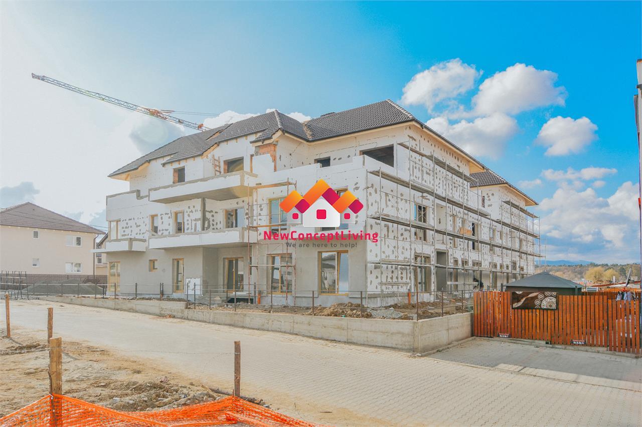 Apartament de vanzare in Sibiu - 3 Camere La cheie - Gradina de 96 mp