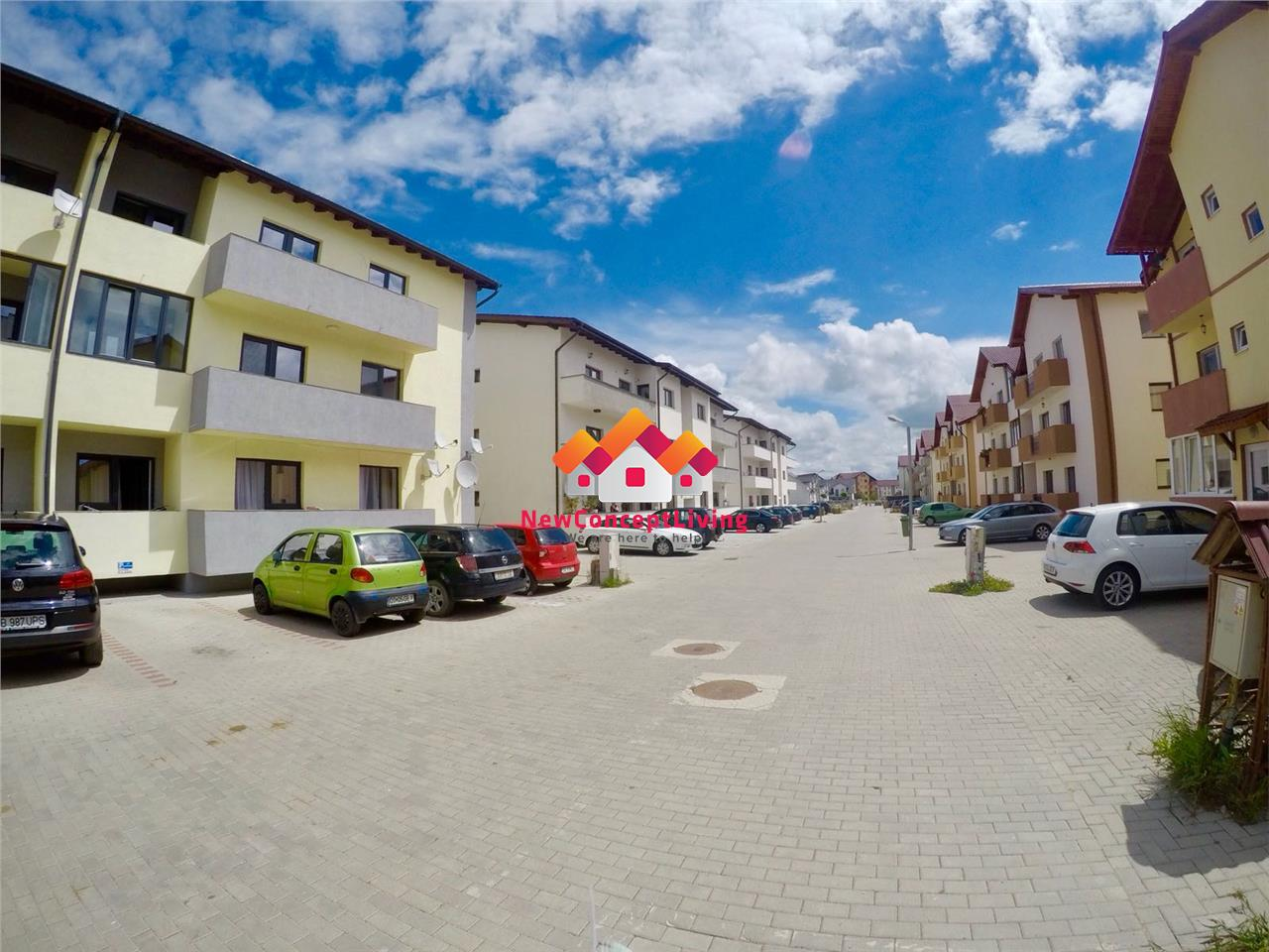 Apartament 3 camere de vanzare in Sibiu - decomandat + 2 balcoane