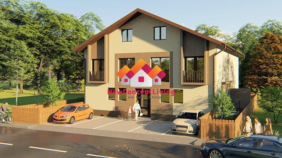 Apartament de vanzare in Sibiu - pe 2 nivele - gradina proprie
