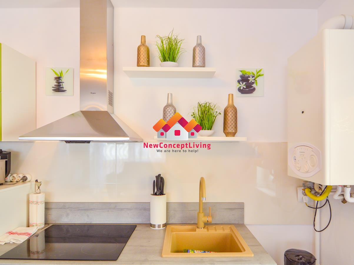 Apartament de vanzare Sibiu - Mobilat si Utilat de Lux - Etaj 1