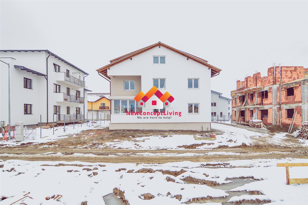 Apartament de vanzare in Sibiu- 2 Camere-Decomandat-Gradina si Pivnita