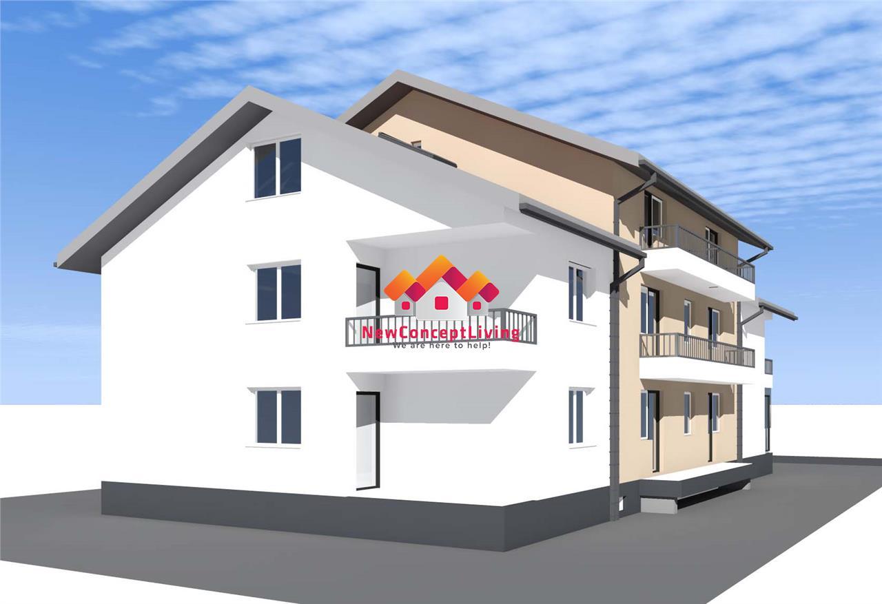 Apartament de vanzare in Sibiu - 2 Camere - Pivnita - Pod si 2 Parcari