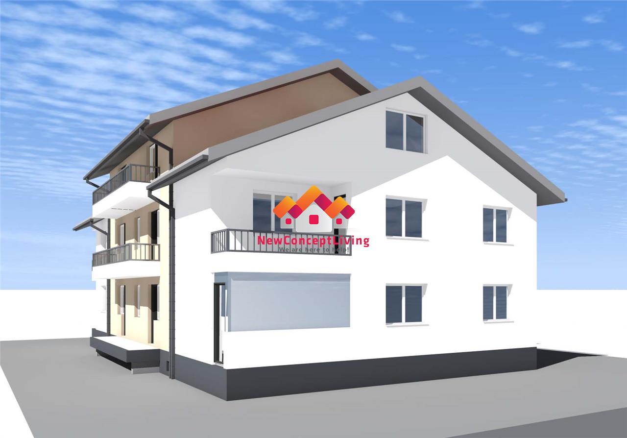 Apartament 3 camere de vanzare in Sibiu - Pivnita si Gradina