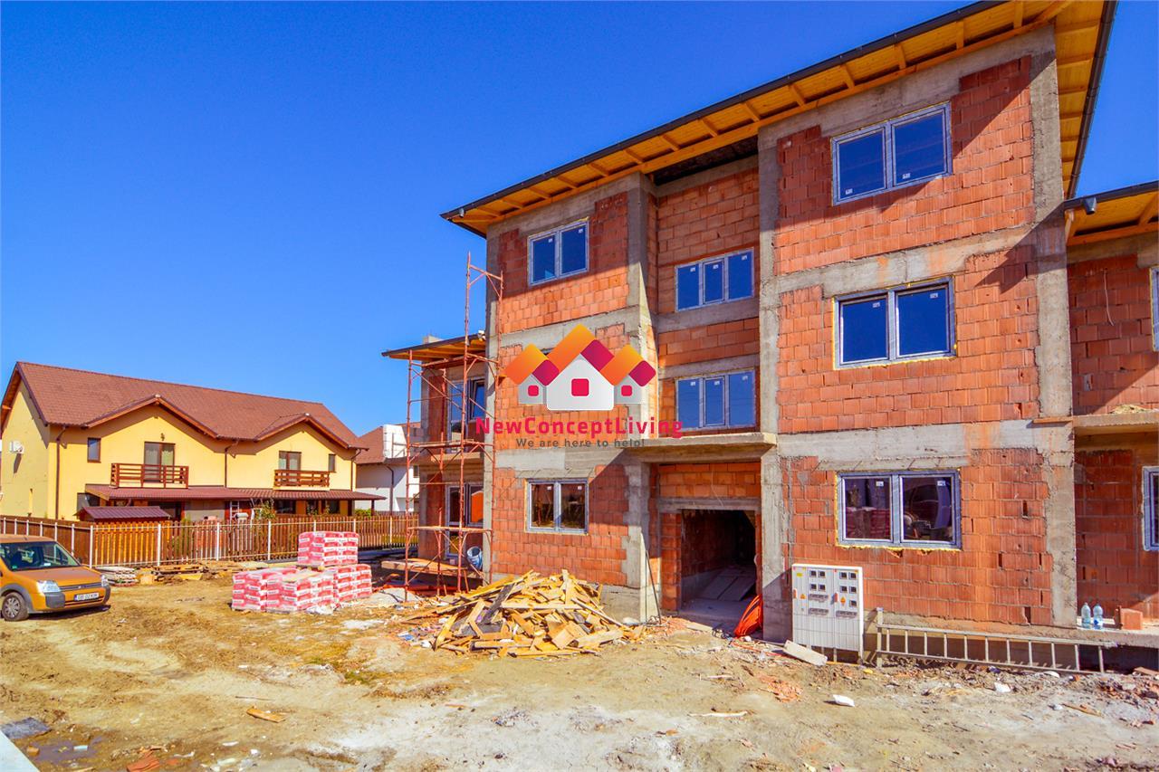 Apartament de vanzare in Sibiu - 3 Camere cu Gradina si Pivnita