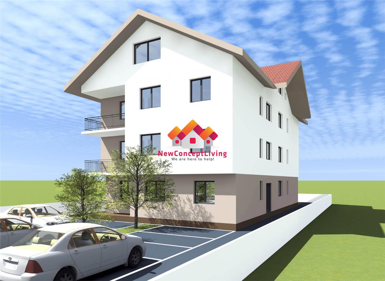 Apartament de vanzare in Sibiu - 3 Camere Cu Balcon 6mp