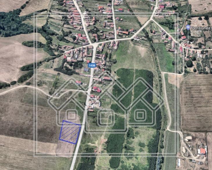 Teren de vanzare in Sibiu, intravilan, 2000 mp, Industrial Vest