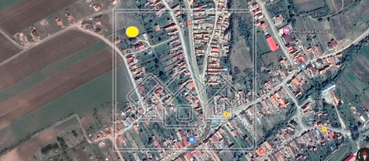 Teren de vanzare in Sibiu - Sura Mare, 504 mp, ideal pentru casa